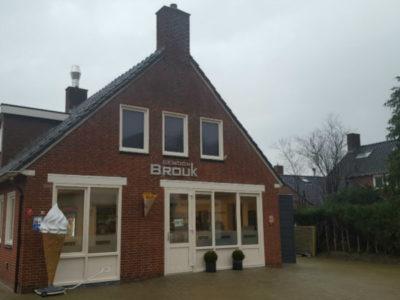 Cafetaria op Brouk Noordbroek